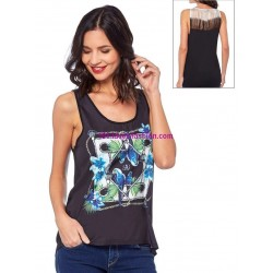camiseta top verano marca Dy design 11008VRA marcas paris