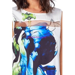 tshirt top summer brand Dy design 11006VRA boutique clothing