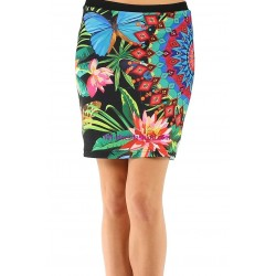 shop skirt print Butterflies 101 idees 152VRA ethnic wear