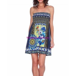 dress summer ethnic chic 101 idées 1642Y boutique clothing