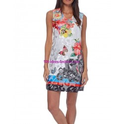 buy dress tunic lace ethnic summer 101 idées 254BVRA online