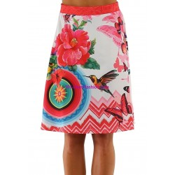 buy skirt print floral 101 idees 291BVRA online