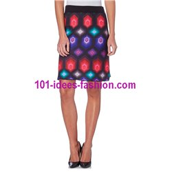 skirt print winter 101 idees 255IN
