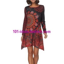 dress tunic winter 101 idées 186W paris french