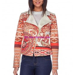 buy jacket print mid season 101 idées 320VE online
