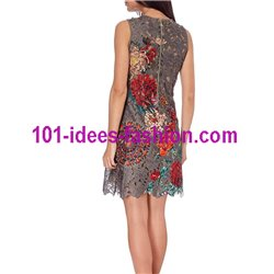 dress tunic lace chic 101 idées 1124W Spring Summer 2018