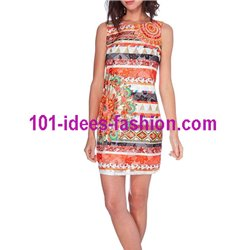 dress tunic lace summer ethnic 101 idées 1512Y Spring Summer 2018