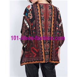boho chic poncho winter ethnic tribal 101 idées 2162Z clothes for