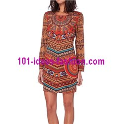 kleider tuniken Wildleder optik 101 idées 286CMW boho hippie fashion