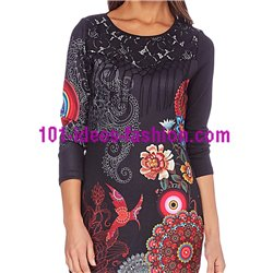 kleider tuniken Spitze ethno winter 101 idées 189W boho hippie fashion