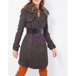 winter coat with fur brand 101 idees 83743