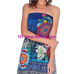 kleid ethno chic sommer 101 idées 1624Y boho hippie fashion