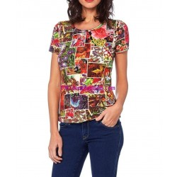 shop tshirt top summer brand Dy design 10001CAVRA ethnic wear