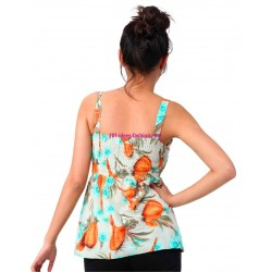tshirt top summer brand 101 idees 3094b spanish style