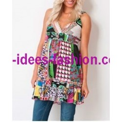 tunic dress summer brand Dy Design 1735 french fashion