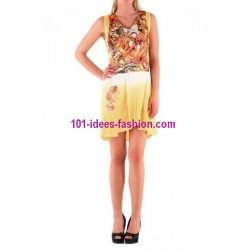 tunika kleid sommer marken 101 idées 001AM designer outlet online shop