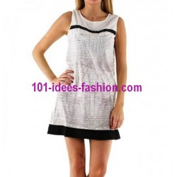tunic dress summer brand 101 idées 043BR french fashion