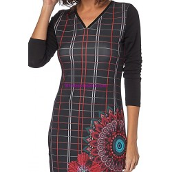 dress tunic print mid season 101 idées 427IN french fashion
