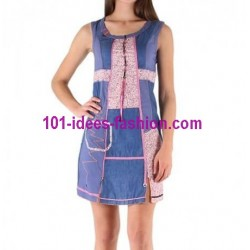 tunic dress summer brand c fait pour vous 3483 very cheap
