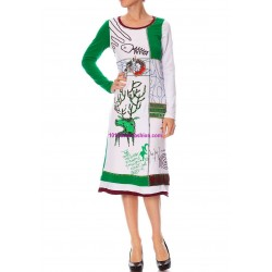 tunic dress summer brand Dy Design 1073 COTTON boutique clothing