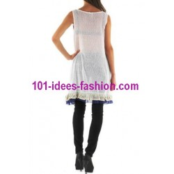 tunic dress summer brand rosa & rose 3466AZ boutique clothing