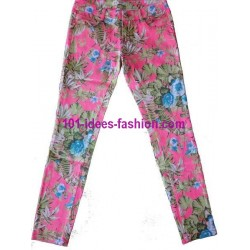 gonna leggings shorts frime 8180R marca simile desigual