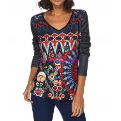 tshirt top invernale 101 idées 009W LARGE shopping online