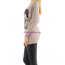 tops blusas camisetas invierno marca CHERRY 155CA elegante fashion