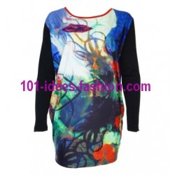 shop t-shirts tops blouses winter brand eden & orphee 8213 ethnic wear
