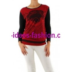 tops t shirt blusen hemden winter marken 101 idees 9021R boho hippie