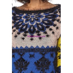Sweater soft touch print 101 idées 8206W spanish style
