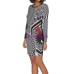 dress tunic print mid season 101 idées 426IN 2017 prom