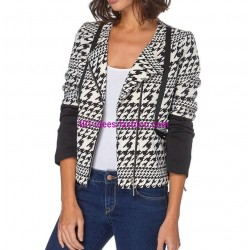 boho chic jacket black white label 101 idées 011 clothes for women