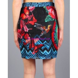 buy skirt print floral 101 idees 384VRA online